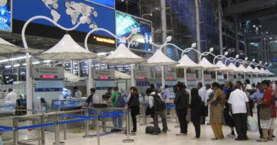 Bangkok: Suvarnabhumi airport