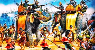 an-illustration-of-an-elephant-duel-between-king-naresuan-and-burmese-crown-prince