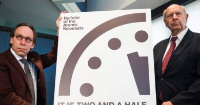 Doomsday Clock Jan, 2017