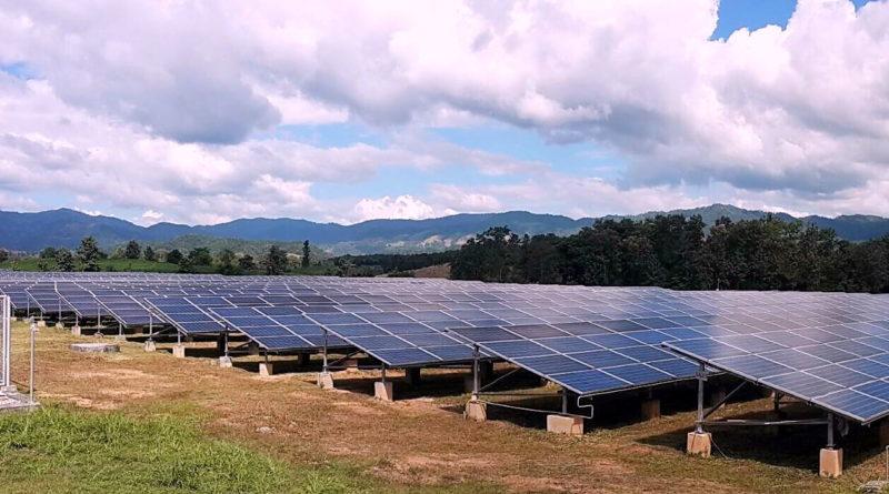 Padaeng Industry Pcl's Mae Ramat Solar Farm