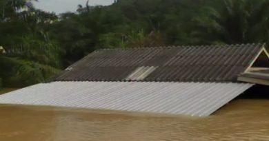 Southern Thailand still flooded