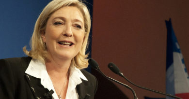 French far right leader Marine Le Pen