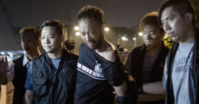 Hong Kong activist beaten by police during umbrella protests