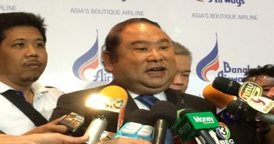 Puttipong Prasarttong-Osoth, CEO of Bangkok Airways