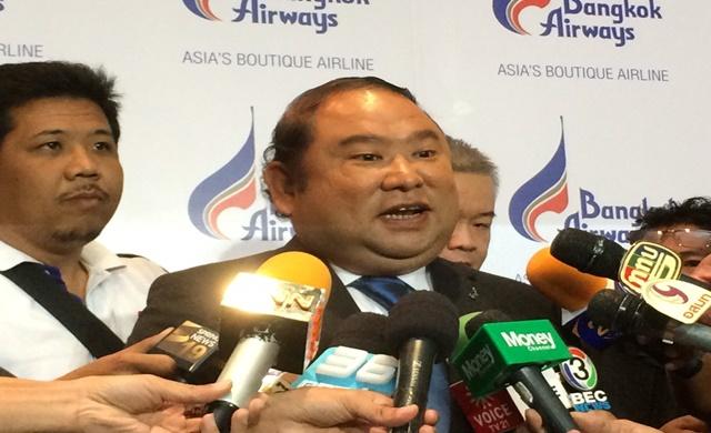 Puttipong Prasarttong-Osoth, CEO of Bangkok Airways