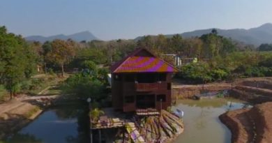 Rotating house in Phayao