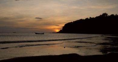 Sunset at Koh Phayam Ranong