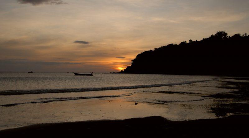 Sunset at Koh Phayam Ranong