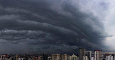 Thunderstorm in Bangkok