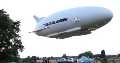 Airlander 10, dubbed flying bum