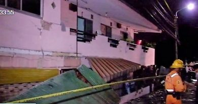 Bangkok apartment building sank