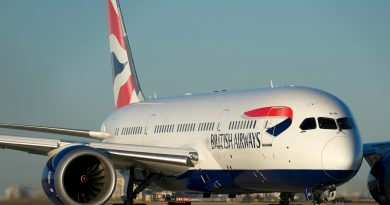 British Airways jetliner