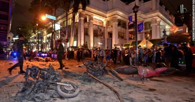 Erawan Shrine after the blast