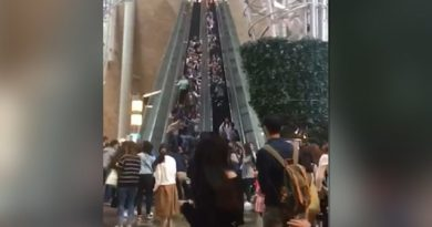 Hong kong escalator accidnet