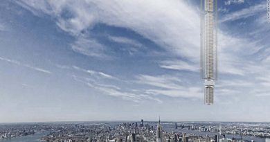 Orbiting skyscraper 1