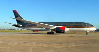 Royal Jordanian aircraft