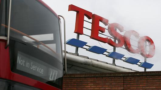 Tesco sign in UK