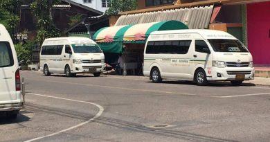 Thai provincial vans