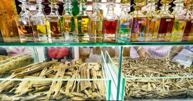 The resins of agarwood used to produce oud oil
