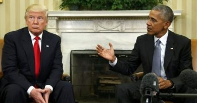 US President Donald Trump with former president Barack Obama.jpg,new