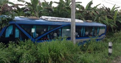 Koh Pha Ngan tour bus accident