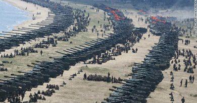 North Korea live-fire drill
