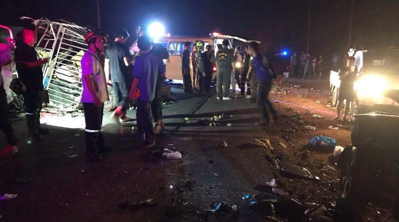 Songkran 2017 accident