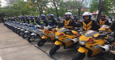 Thai traffic police