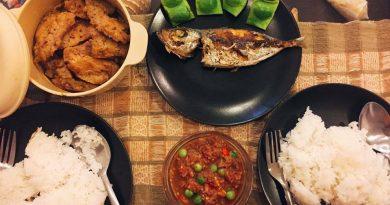 Typcal Phuketian meal