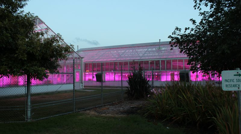 US Department of Agriculture greenhouses
