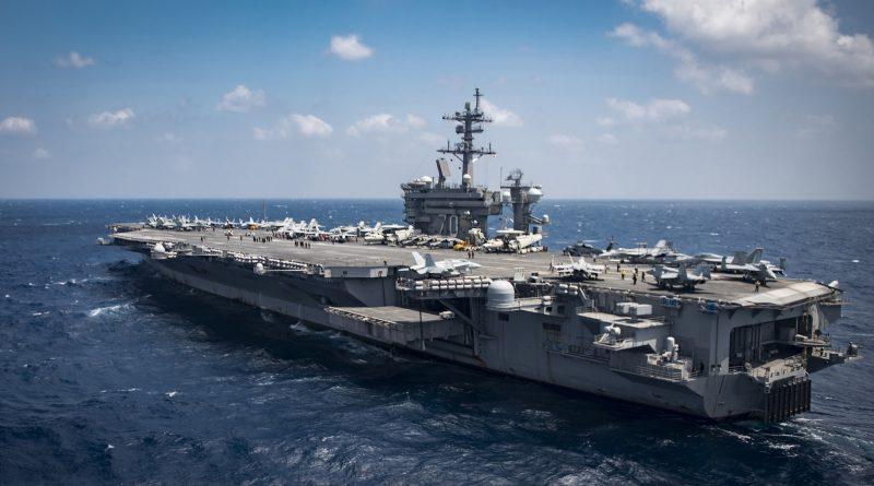 US aircraft carrier USS Carl Vinson