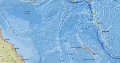 Vanuatu earthquake image