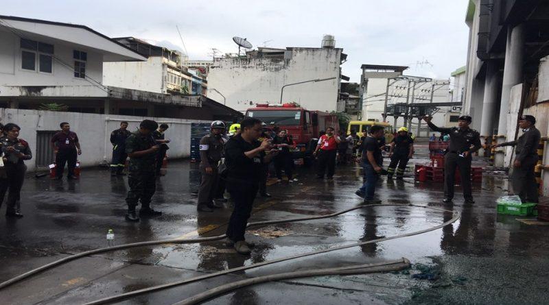 Fire at Big C Bangkok