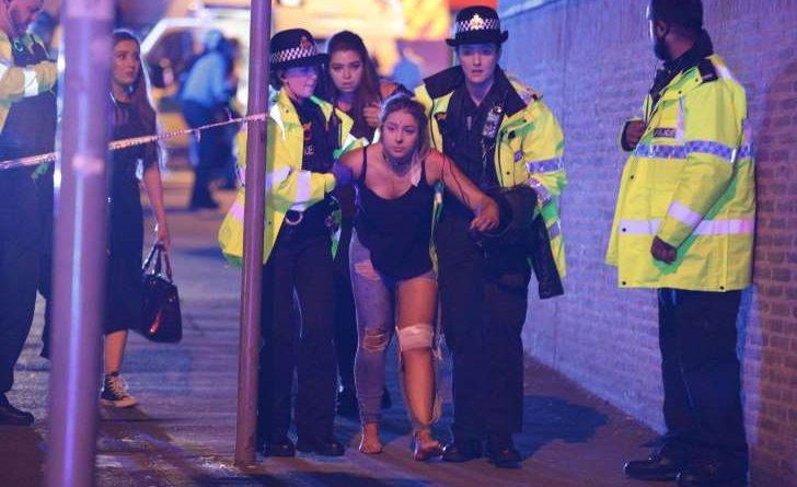 Manchester blast one
