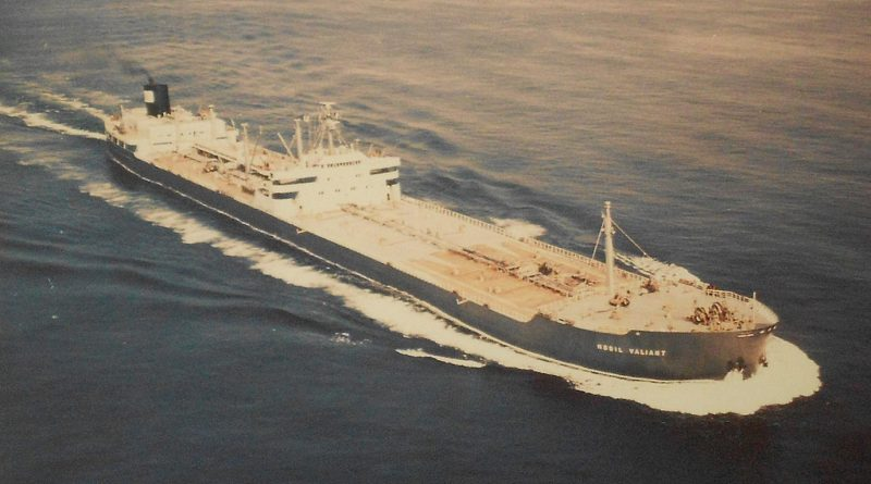 Mobil Valiant oil tanker