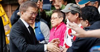 New South Korea president Moon Jae-in