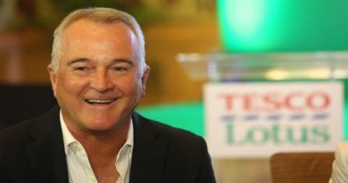Tesco Lotus Thailand CEO John Christie