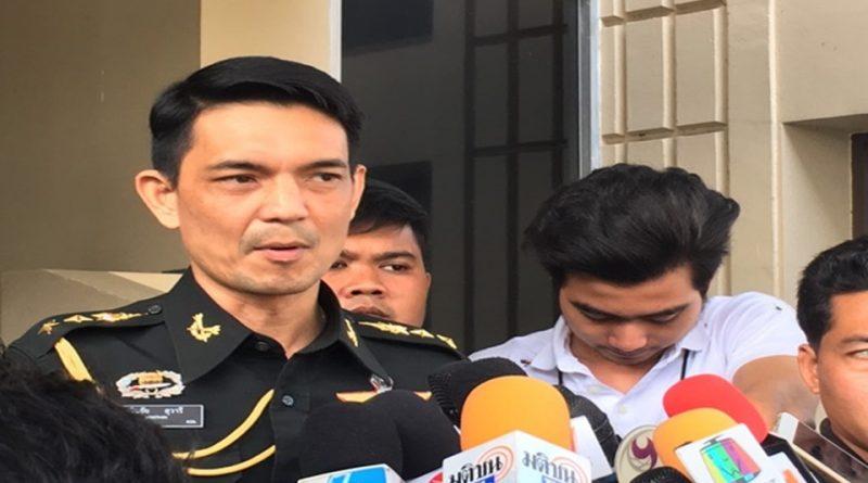 Col. Winthai Suvaree, Army spokesman