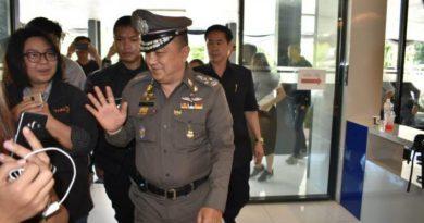 Deputy Police Chief Pol Gen Sirvara Ransibrahmanakul