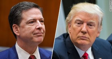 James Comey and President Trump (1)