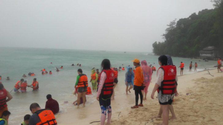 Krabi weather warning
