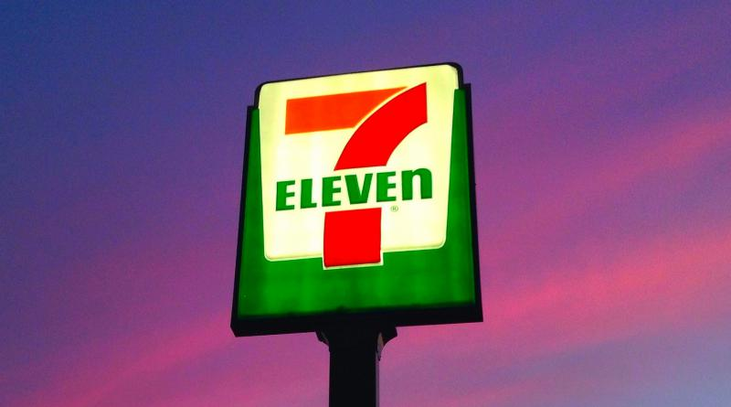 New, 7-Eleven sign