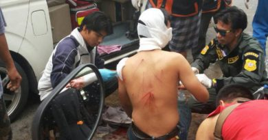 New, injured vocational college student