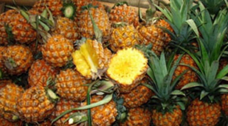 Thai pineapples