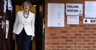 Theresa May voting June 8, 2017
