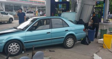 Accident in Lampang