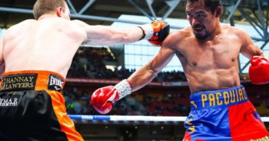 Boxing Manny Pacquiao-Jeff Horn fight