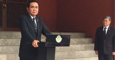 Capture Prime Minister Prayut