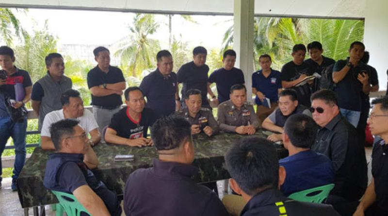 Krabi massacre suspects being questioned