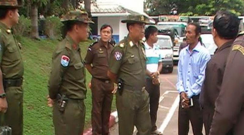 Myanmar general in Thai border town
